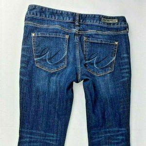Express Jeans Womans Size 2s Blue Denim Jeans